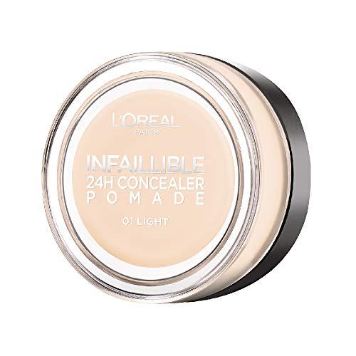 L'Oréal Paris Infaillible 24H Correttore Viso in Crema a Lunga Tenuta, 01 Light