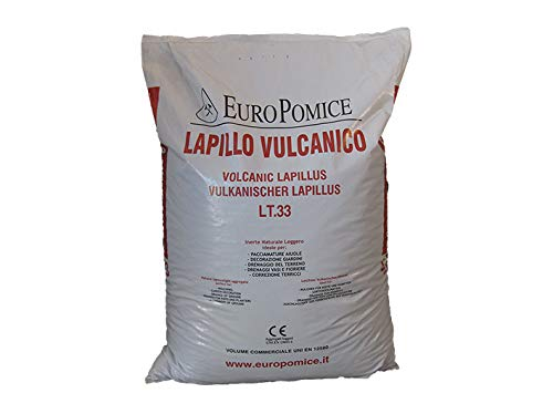 Geosism & Nature Lapillo vulcanico, Lava vulcanica 3/5 mm (c.ca 33 kg - 33 lt)