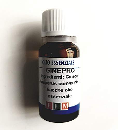 GINEPRO BACCHE Olio essenziale 10 ml - Cistite, gotta, reumatismi, cellulite