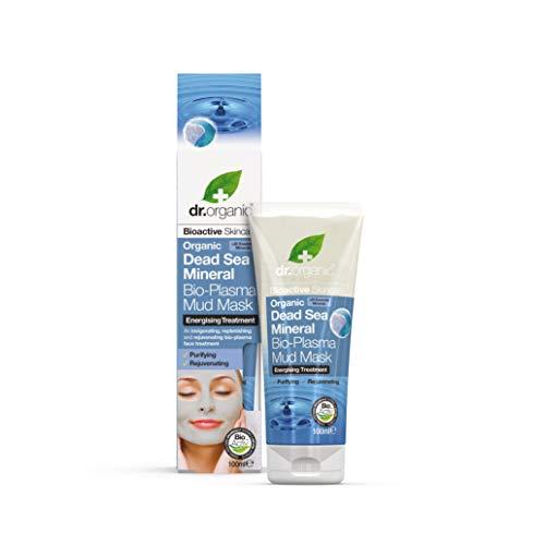 Dr. Organic Dead Sea Minerals Bio Plasma Mud Mask - Maschera Viso 100 ml