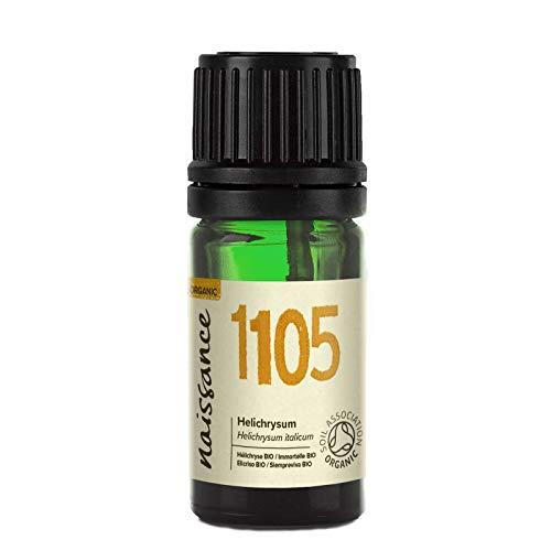 Naissance Olio di Elicriso (Immortelle) Biologico - Olio Essenziale Puro al 100% - 5ml