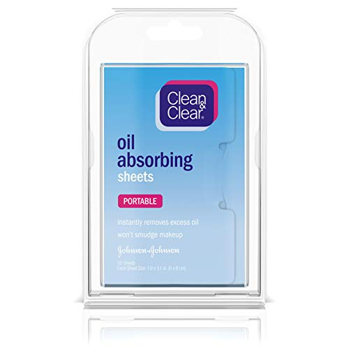 Clean & Clear Instant Oil-Absorbing Sheets 50 sheets