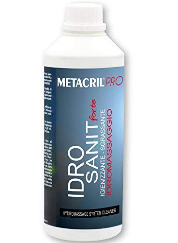 Metacril IDRO SANIT Forte 1 LT + Dosatore Graduato.Igienizzante e Sanificante per IDROMASSAGGIO (Teuco, Albatros, ECC.) Spedizione IMMEDIATA