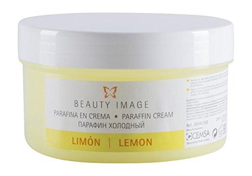 Bellezza immagine paraffina limone crema, 250ml