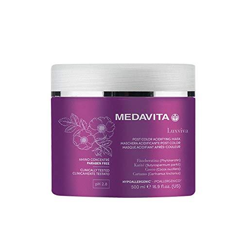 Medavita Luxviva Post Color Mask 500ml - maschera per capelli colorati
