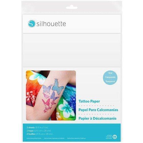 Silhouette Carta per Tatuaggi temporanei
