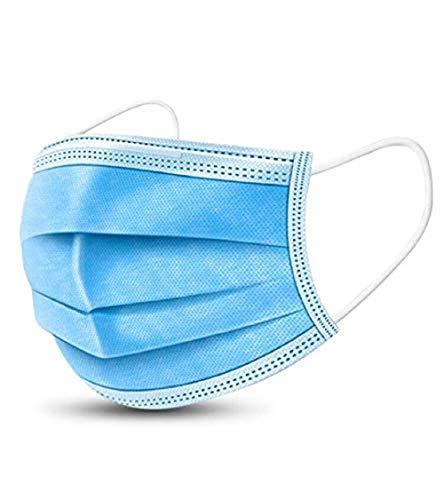 Maschera, usa e getta, filtro a 3 strati, maschera per il viso usa e getta, protezione personale, antipolvere, anti-sputa, maschera protettiva anti-polvere