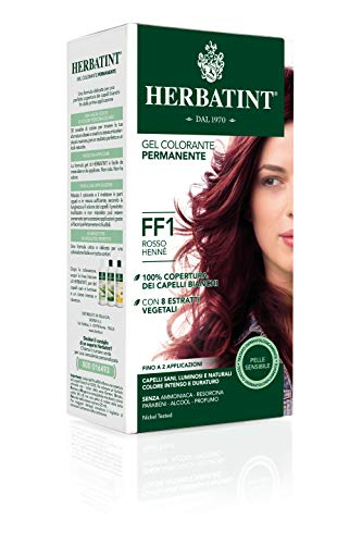Herbatint Gel Colorante Permanente FF1 Rosso Henné 150ml