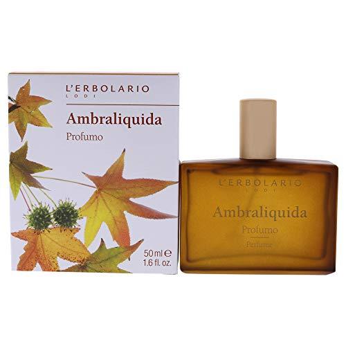 L'Erbolario, Profumo Unisex Ambraliquida, 50 ml