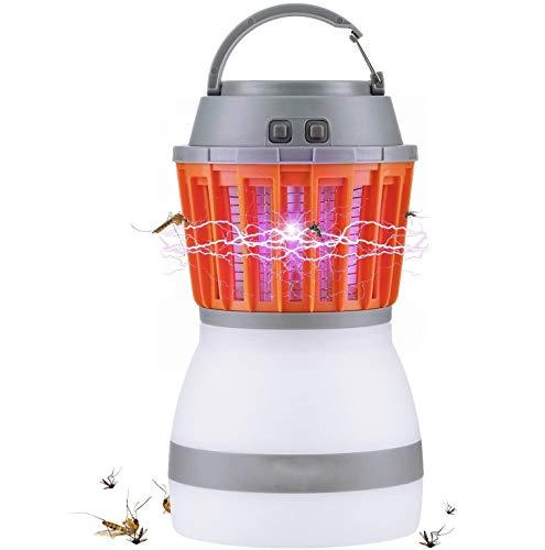 Lampada anti zanzara,Lampadine LED 2 in 1 e repellente per insetti impermeabile, insetticida, compatto, 2200mAh ricaricabili e portatili | interni ed esterni, casa e viaggi