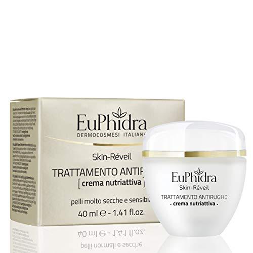 Euphidra Skin Réveil, Trattamento Antirughe, Crema Nutriattiva, Pelli Molto Secche e Sensibili - 40 ml.