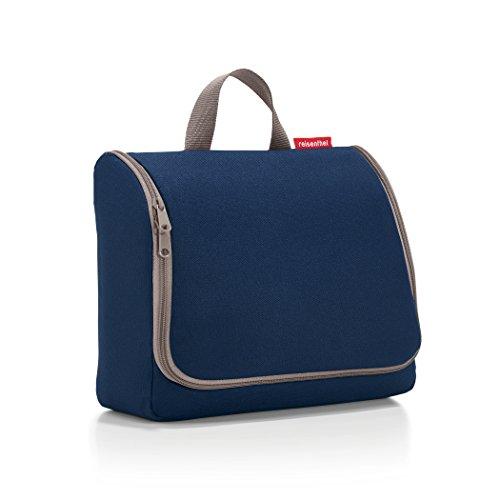 Reisenthel toiletbag XL dark blue Beauty Case 28 x 25 x 10 Centimeters Blau (Dark Blu)