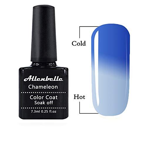 Allenbelle Smalto Semipermanente Camaleonte Nail Polish UV LED Gel Unghie 7.3ml 5770