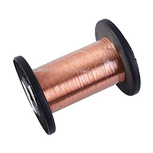 Filo smaltato, QA-1/155, 0,7 mm Bobina rame smaltato Elettromagnetico Poliuretano, Induttanza Trasformatore