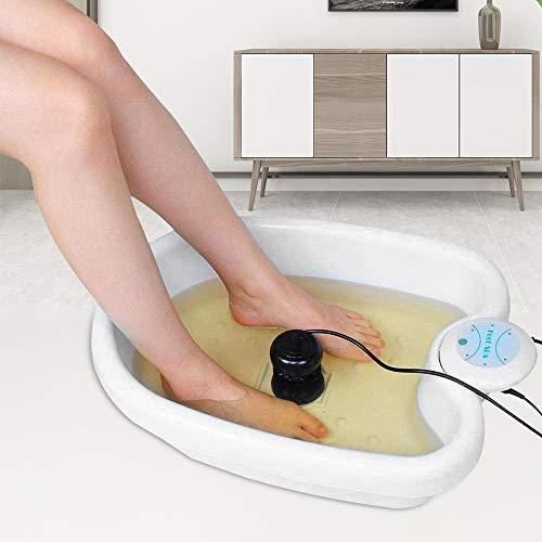 KKTECT Ionic Detox Foot Bath Machine con funzione di massaggio Pediluvio, Detox Health, Cell Clean Foot Spa, 2 array per casa / commerciale / salone di bellezza / spa club / regalo