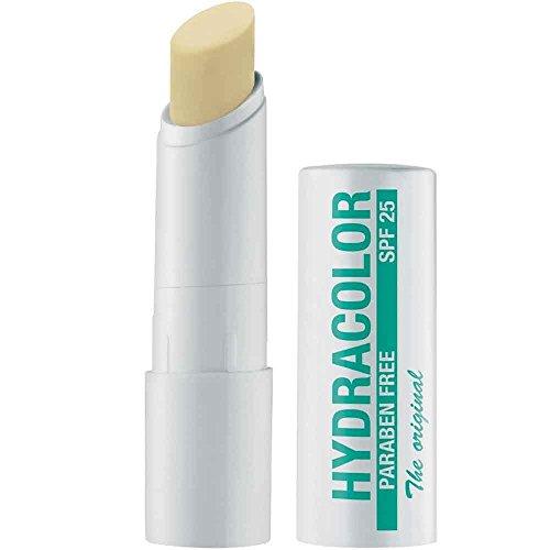 Hydracolor 21 Nude, rossetto incolore con SPF 25, rossetto per la cura delle labbra