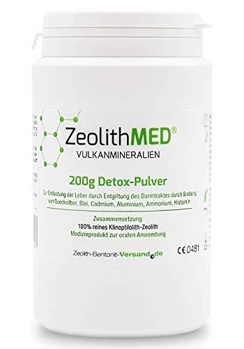Zeolite MED Detox-Polvere 200g Dispositivo Medico CE