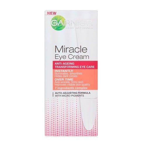 L'Oreal Garnier Skin Naturals Miracle, Crema per contorno occhi, 15 ml