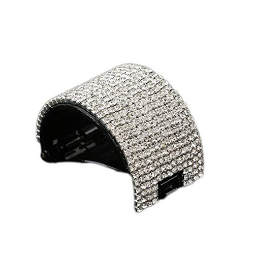Lurrose Pinze per Capelli Claw Clip per Capelli di Cristallo Mini Mollette Capelli Clip Accessori Donna Ragazza (nero)