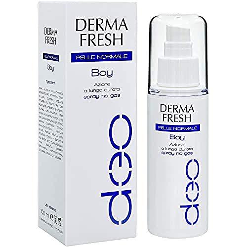 Dermafresh Boy Pelle Normale Deodorante Spray per la Deodorazione nel Periodo Adolescenziale - 100 ml