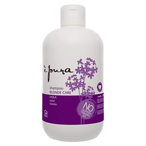 È Pura - Shampoo Blonde Care - Trattamento Antigiallo per Capelli Biondi e con Meches - 500 ml