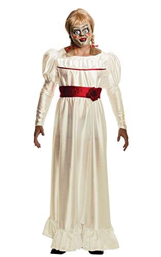 Rubie's - Costume Ufficiale da Annabelle per Adulti, The Conjuring Horror Film