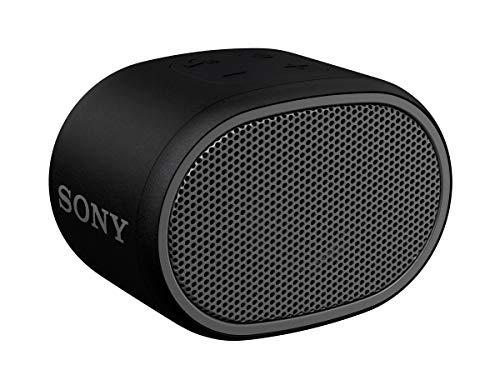 SRS-XB01 - Speaker wireless portatile con EXTRA BASS, Resistente all'acqua, Bluetooth, Nero