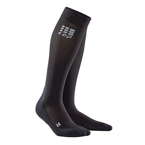 CEP Wp455r-301 Recovery+ calze per recupero, Donna, WP40R, Nero , L