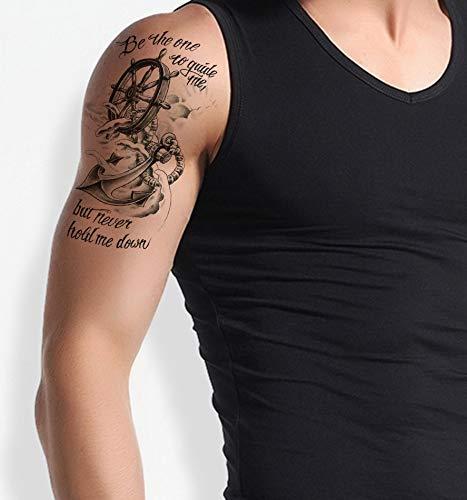 ancora – finto tatuaggio temporaneo th482.