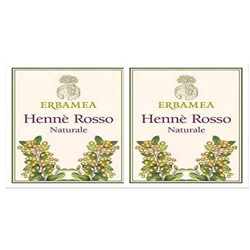 Erbamea HENNE' ROSSO Naturale 100 gr. | 2 Confezioni