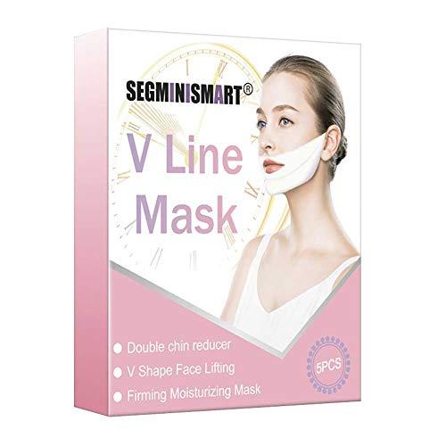 V lifting maschera,V Line Mask,V lifting maschera per il mento sollevabile,Doppio mento riduttore,intense lifting a doppio strato Mask