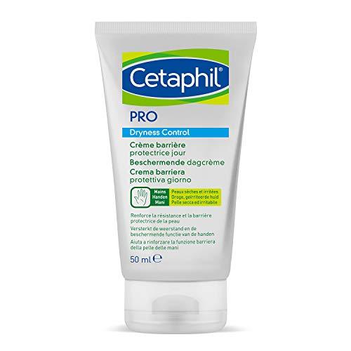 Cetaphil PRO Dryness Control, Crema Mani Barriera Protettiva Riparatrice Intensiva Giorno. Protezione Quotidiana per Pelle Sensibile ed Irritata, Formato 50 ml
