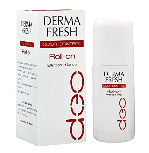 Dermafresh Odor Control Roll-On Deodorante Attivo per Ridurre l'Impatto Olfattivo del Sudore Particolarmente Maleodorante - 30 ml