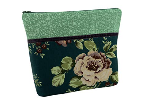 Lilli - Beauty case fatto a mano Sophia Petrol