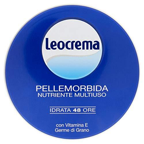 Leocrema Crema Pelle Morbida Nutriente Multiuso con Vitamina E, 150ml