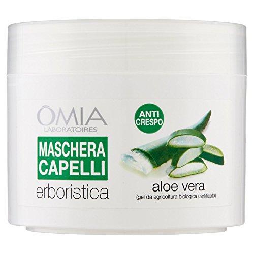 Omia Maschera Capelli Erboristica Aloe Vera, 250 ml