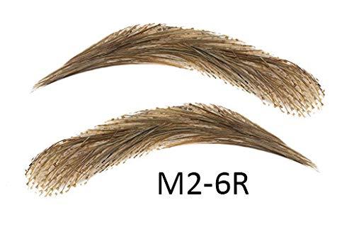 Sopracciglia semi-permanenti 100% naturali - fatto a mano (M2-6R)