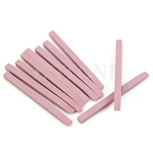 ruiruiNIE 1Pc Lima per Unghie Strumento per Unghie Nail Manicure Pietra pomice Pusher per cuticole Set Nuovo