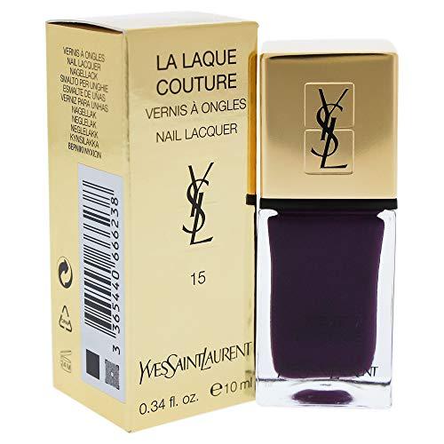 Yves Saint Laurent la Laque Couture Smalto Unghie, 15 Violet Baroque, 10 ml