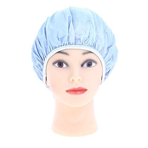 Sibel cuffia doccia in plastica, azzurro