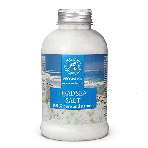 Sale del Mar Morto 500g - Naturale e Puro al 100% - Sali del Mar Morto - Meglio per il Buon Sonno - Antistress - Bagno - Bellezza - Rilassante - Sali da Bagno