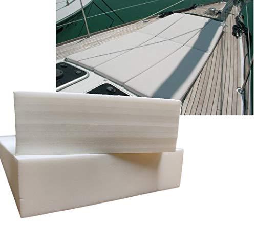 ShowRoom Vicidomini Air Gomma Gommapiuma cellula Chiusa Cuscini Barche Nautica Pannelli Spugna in PE (30 A Strati Rigido, 150 x 200 x 5 cm.)