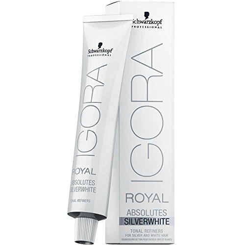 Schwarzkopf Professional Igora Royal Absolutes Silverwhite - 60 Ml