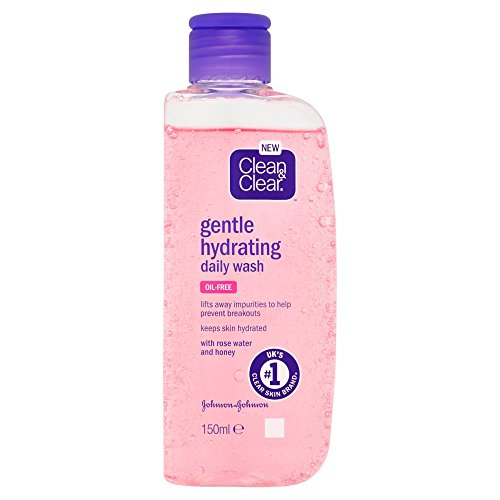 Clean and Clear Gentle Hydrating Daily Wash, 150 ml