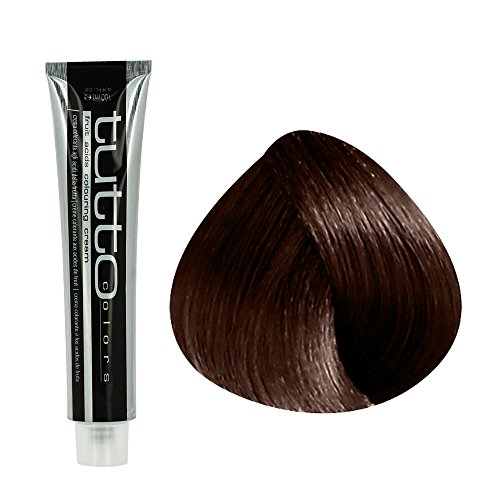 Echosline Echos Color Crema Colorante Professionale – Tinta Capelli Castano Rame (4.4) - 100 ml