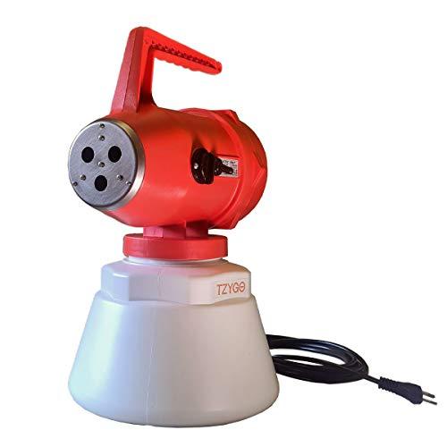 TZYGO Air Fog Attrezzature | Nebulizzatore Elettrico Professionale per Igienizzare Ambienti | 1 Confezione con Nebulizzatore