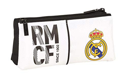 Real Madrid 2018 Beauty Case, 22 cm, Bianco (Blanco)