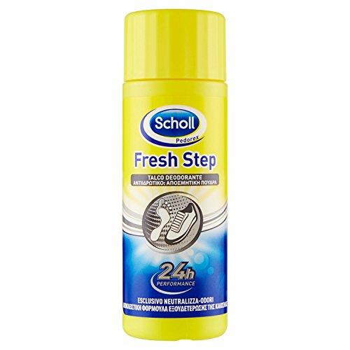 Scholl Pedorex Talco Deodorante 75 g, Pacco da 6