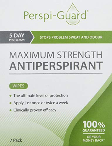 Perspi-Guard Salviette Antitraspiranti Maximum Strength - 7pack
