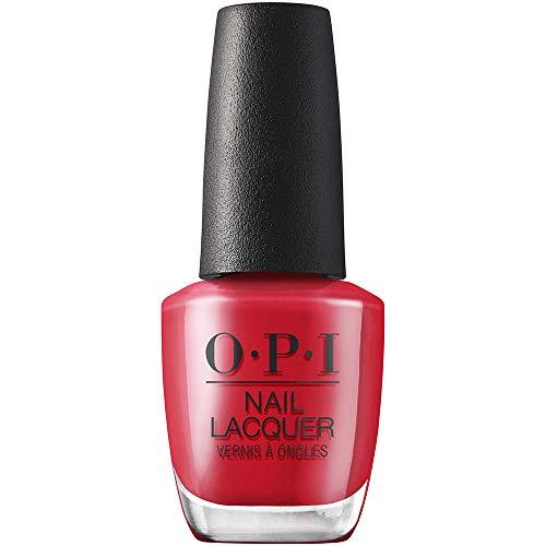 OPI Nail Lacquer Smalto, Collezione Hollywood, Rosso, 15 Millilitro